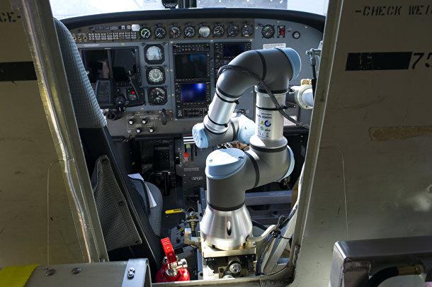 Система автоматического управления воздушным транспортным средством