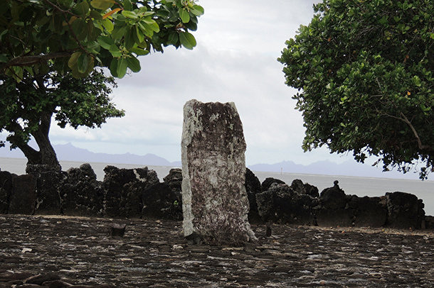 Марае Тапатапуатеа, Французская Полинезия