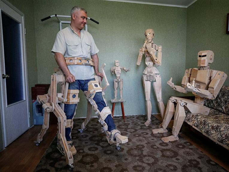 Деревянные модели Дмитрия Баландина