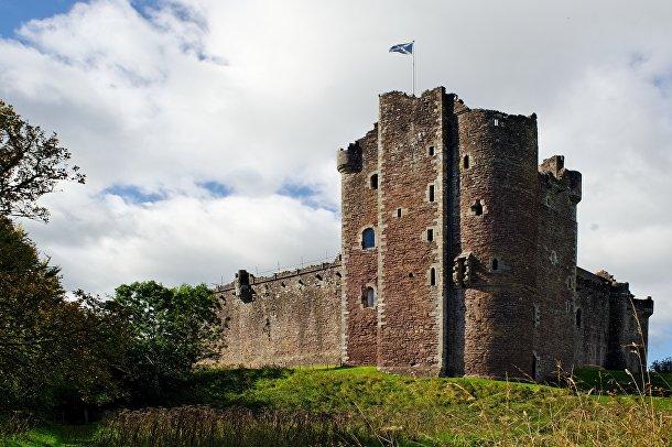 Замок Дун, Шотландия