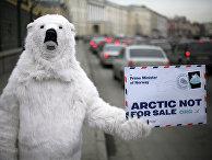 Акция Greenpeace в Санкт-Петербурге