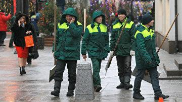 Открытие пешеходной зоны в Тверском районе Москвы