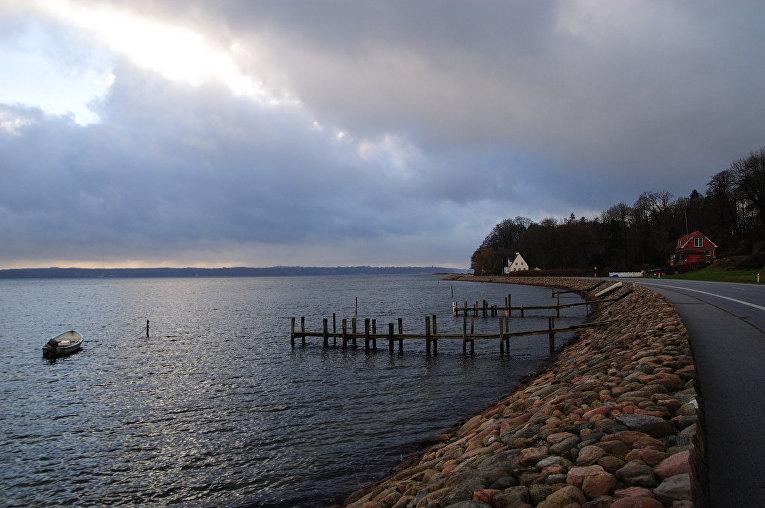 Фьорд в Дании