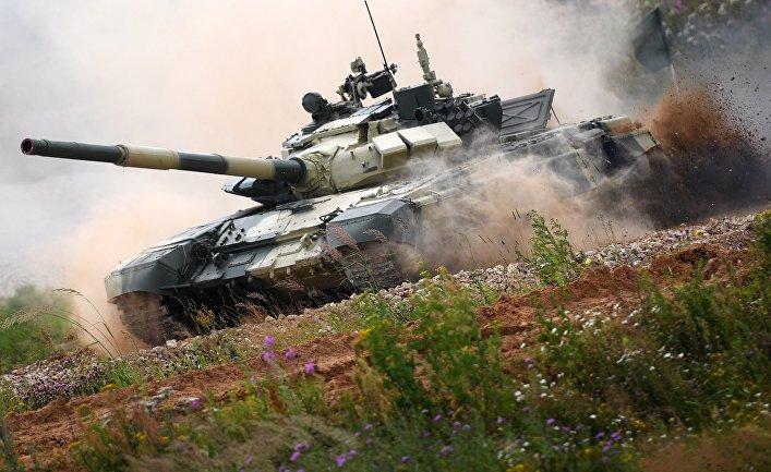 Российская Федерация  одолела  впервом полуфинале Армейских Игр— Танки наши быстры