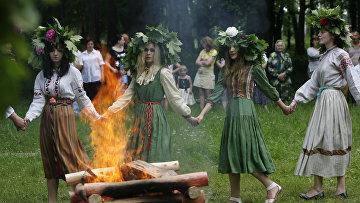 Белорусский народный праздник Русалье
