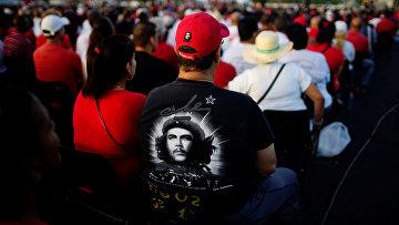 Церемония в честь памяти «Движения 26 июля» в Пинар-дель-Рио, Куба