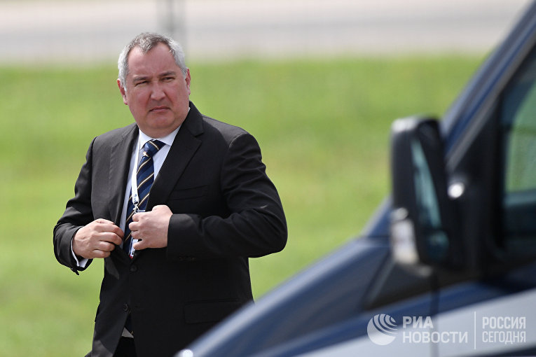 Заместитель председателя правительства РФ Дмитрий Рогозин