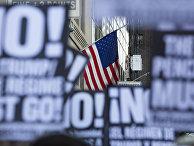 Акция протеста против Трампа в США