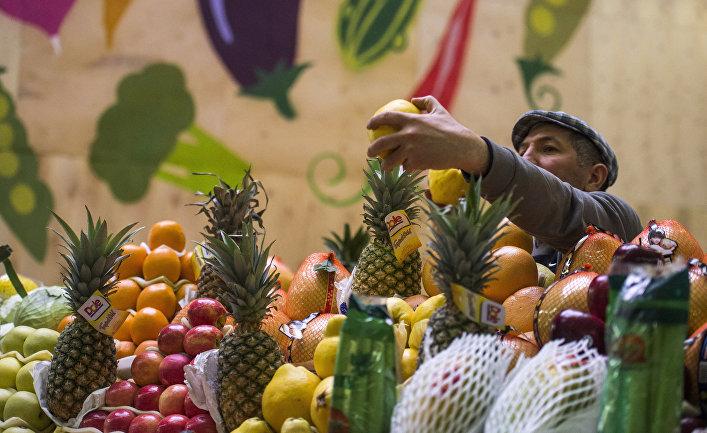 Даниловский рынок в Москве