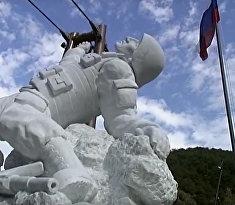 В Италии открыли памятник русскому герою
