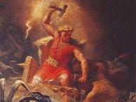 Тор, сын Одина, один из главных асов