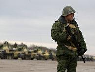 Седьмая Краснодарская Краснознаменная военная база в городе Гудаута