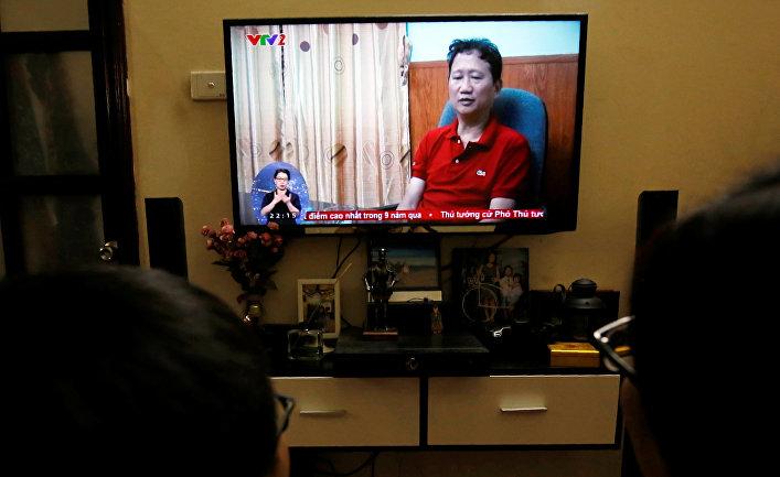Гражданин Вьетнама Чинь Суань Тхане заявляет о своем добровольном возвращении на родину