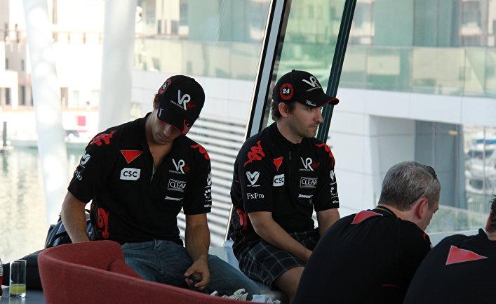 Лукас ди Грасси и Тимо Глок (слева направо)