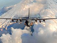 Lockheed AC-130 — летающая артбатарея непосредственной поддержки подразделений сухопутных войск на поле боя