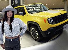 Jeep Renegade Trailhawk на 44-м автосалоне Tokyo Motor Show 2015 в Токио, Япония