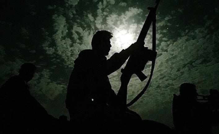 Боец курдской пешмерга