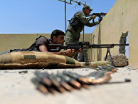Бойцы сирийских демократических сил