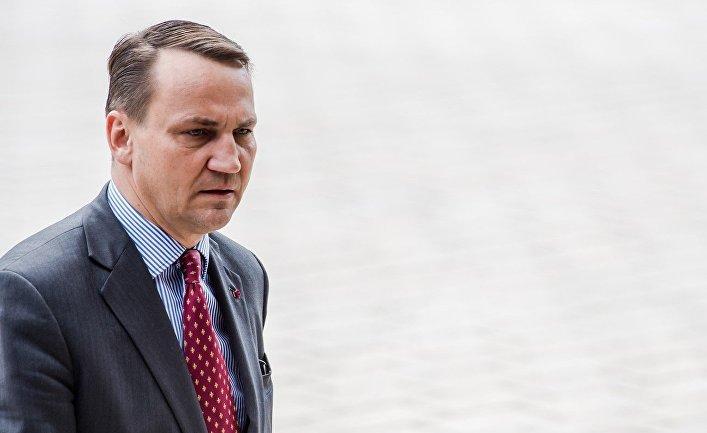 Бывший министр иностранных дел Польши Радослав Сикорский
