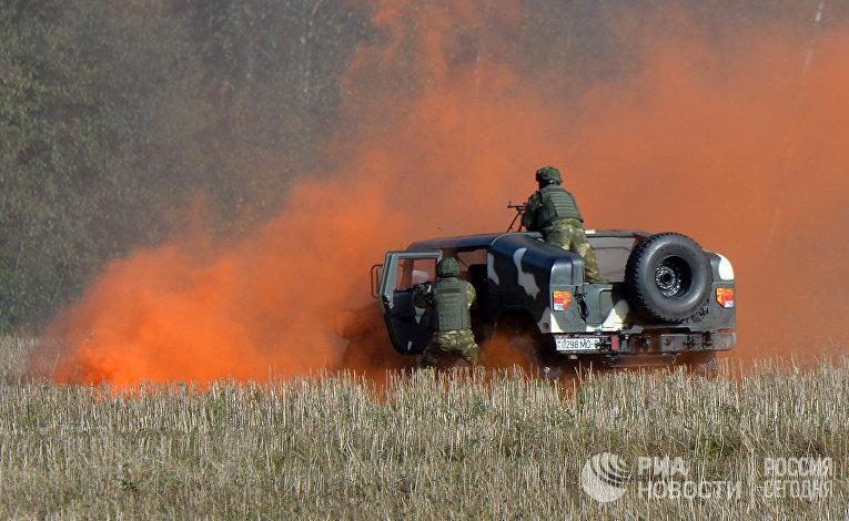 Подготовка к совместным учениям вооруженных сил России и Белоруссии «Запад-2017»