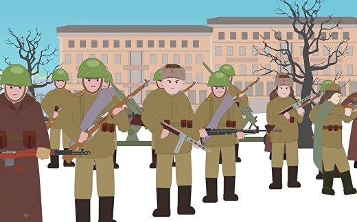 Красная армия: Вторая мировая война