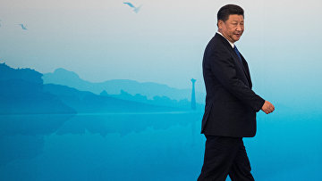 Председатель КНР Си Цзиньпин на саммите БРИКС