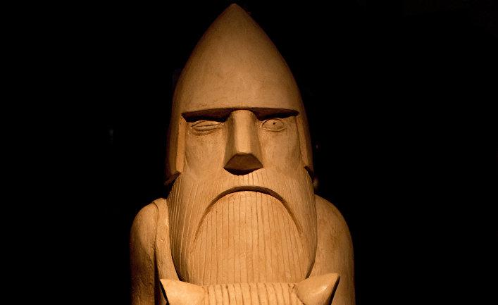 Изображение бога Одина, Гётеборгский музей, Швеция