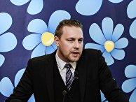 Шведский политик Маттиас Карлссон
