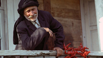 Таркук Ласурия, 85-летний житель села Кутол Очамчирского района Абхазии