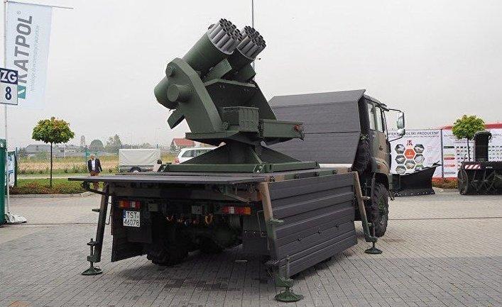 Украинско-польская ракетная система «Stokrotka»