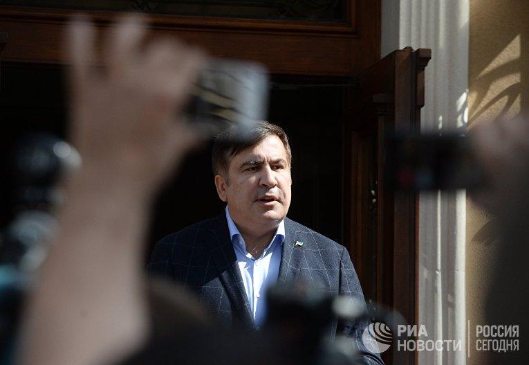 Пресс-конференция Михаила Саакашвили во Львове