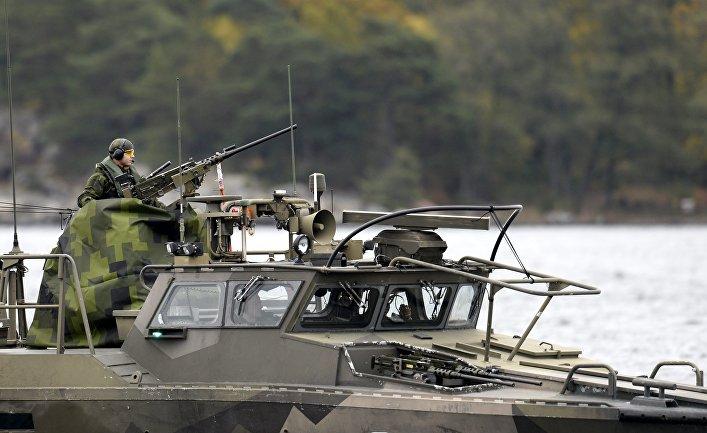 Военнослужащие вооруженных сил Швеции