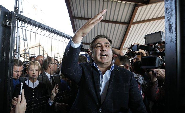 Саакашвили удалось пробиться  натерриторию государства Украины