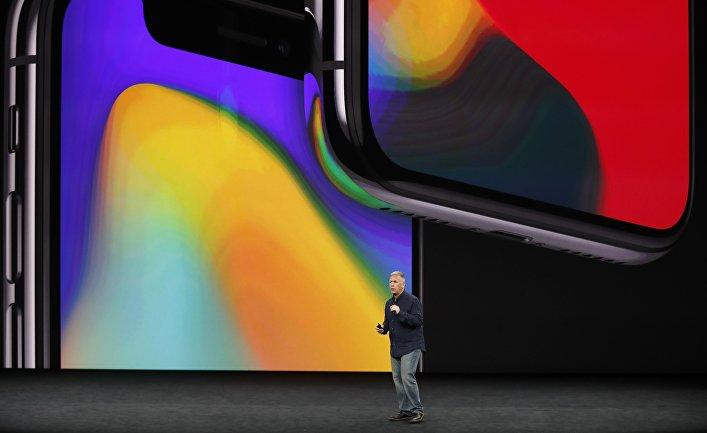 Презентация Apple Iphone X