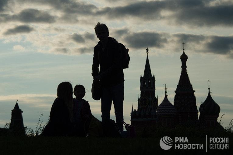 """Открытие парка """"Зарядье"""" в Москве"""