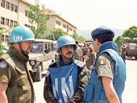 Военные ООН на улицах Сараево