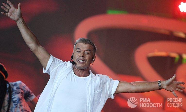 Певец Олег Газманов