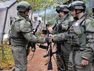 Военнослужащие вооруженных сил РФ во время учений «Запад-2017»