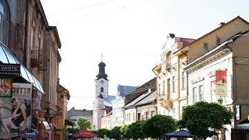 Город Ужгород