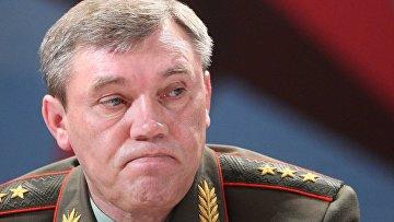 Первый заместитель Министра обороны РФ Валерий Герасимов