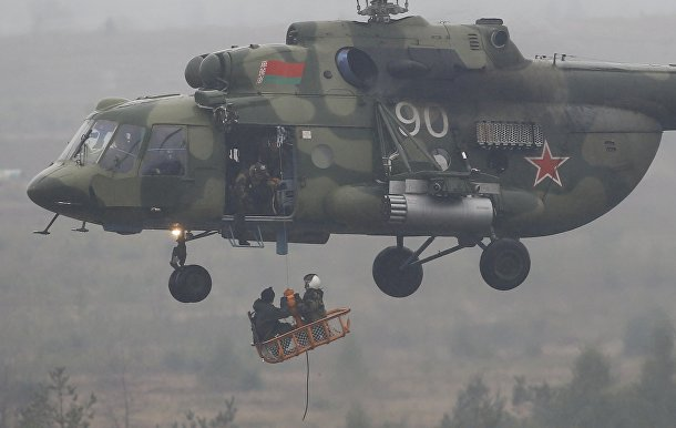 Российско-белорусские стратегические учения «Запад-2017»