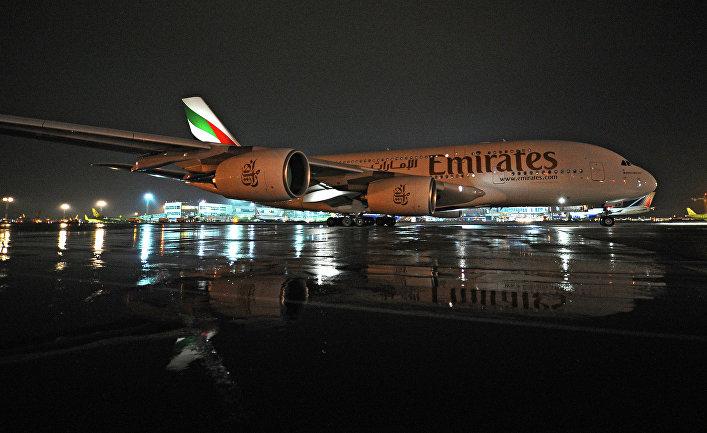 Власти ОАЭ: самолет Emirates «чуть непотерпел крушение» в столице России