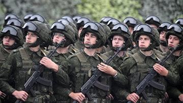 """Российско-белорусские военные учения """"Запад-2017"""" в Белоруссии"""