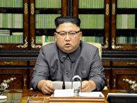 Лидер Северной Кореи Ким Чен Ын выступил с заявлением по поводу выступления президента США Дональда Трампа на Генеральной ассамблее ООН