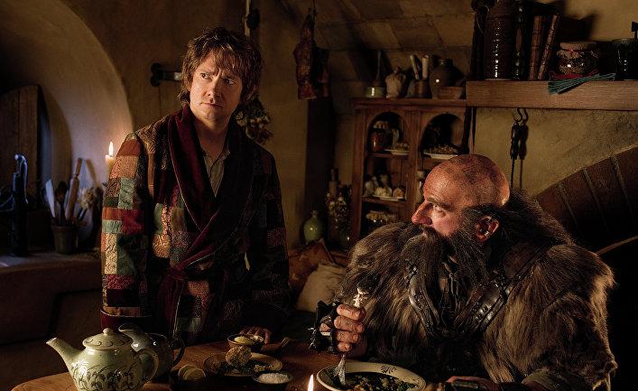 Кадр из фильма «Хоббит: Нежданное путешествие»