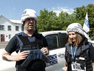 Первый замглавы СММ ОБСЕ на Украине А. Хуг посетил Донбасс