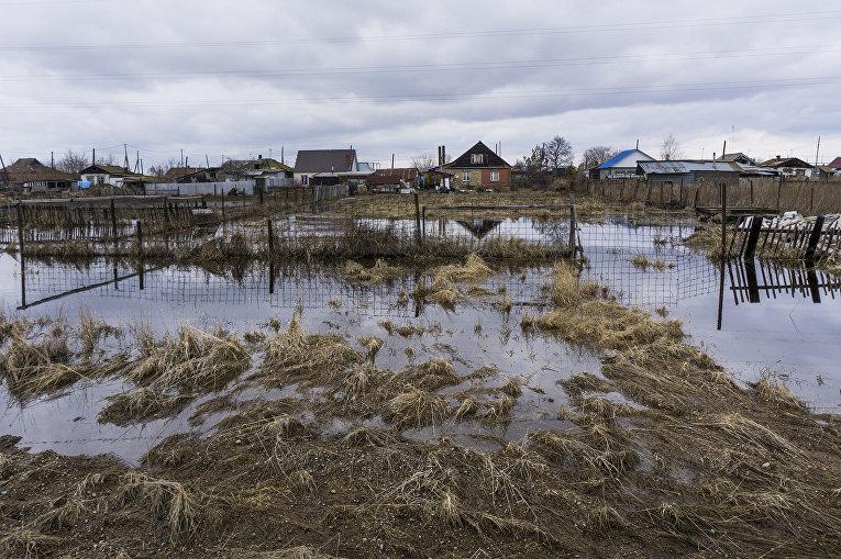 Окраина города Султаново в Челябинской области, недалеко от производственного объединения «Маяк»