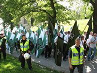 Марш движения сопротивления на национальный день Швеции в 2007 году