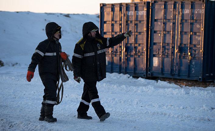 """Нефтяная компания """"Роснефть"""" приступила к бурению скважины """"Центрально-Ольгинская-1"""""""