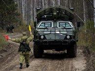 Учения с Новосибирской ракетной дивизией РВСН